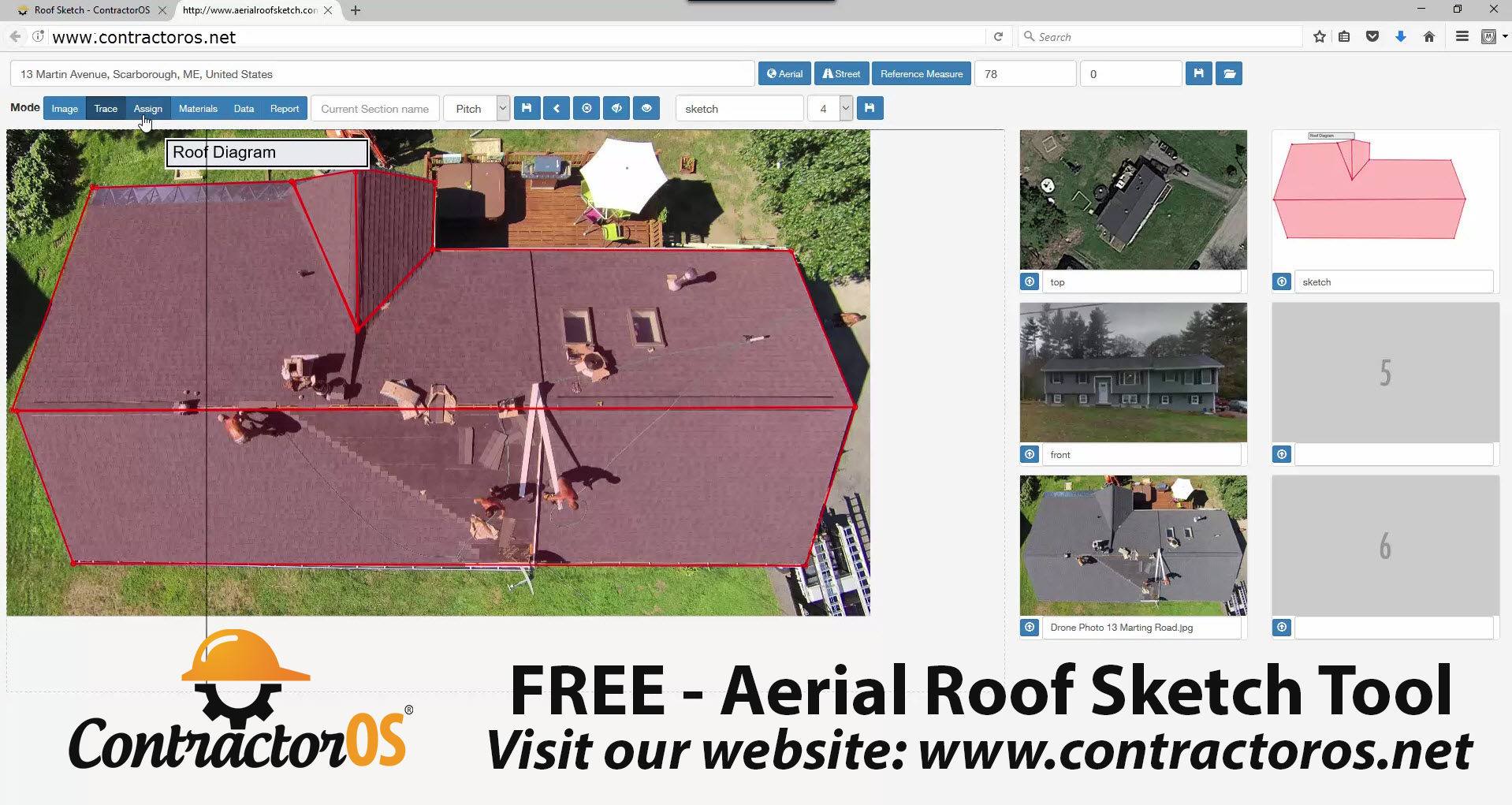 Contractor Roof Estimating Software